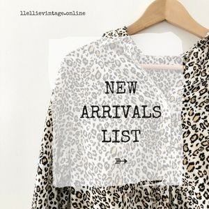 ➳ JUST IN LIST